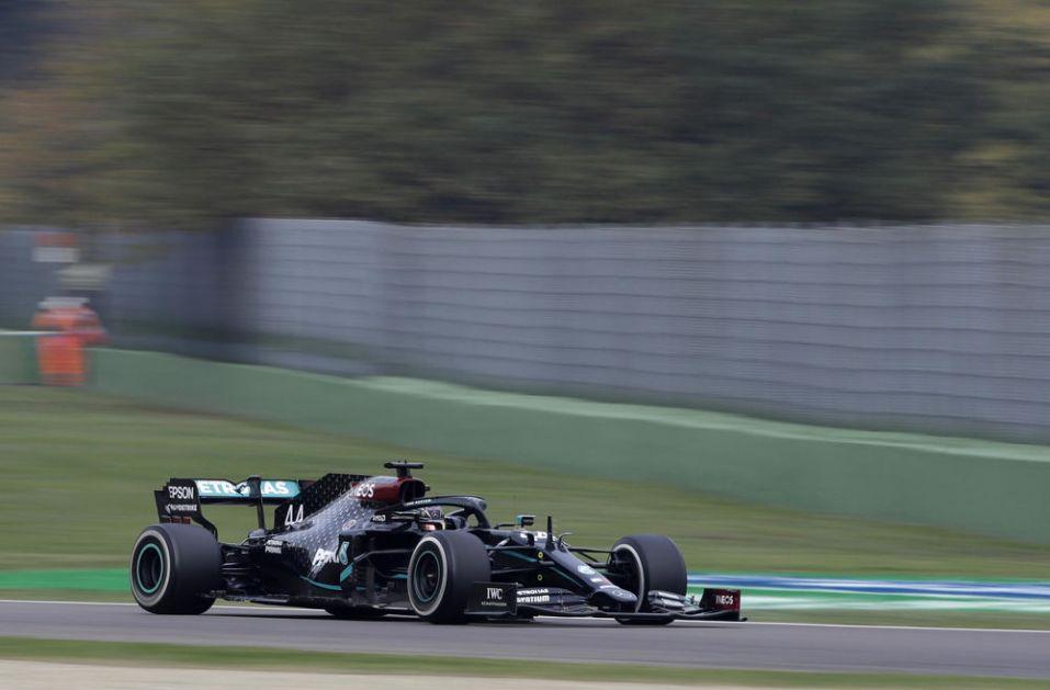 ŠAMPIONSKI NASTUP: Hamilton najbrži na prvom treningu u Bahreinu