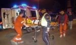 SAOBRAĆAJKA NA MAGISTRALI CETINjE-PODGORICA:  Četiri osobe povređene, dve zarobljene