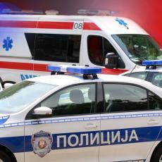 SAOBRAĆAJNA NESREĆA NA AVALSKOM PUTU: Povređena dva muškarca, prevezeni hitno u Urgentni centar