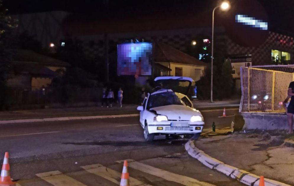 SAOBRAĆAJNA NESREĆA U KRAGUJEVCU: Dve osobe teško povređene (KURIR TV)