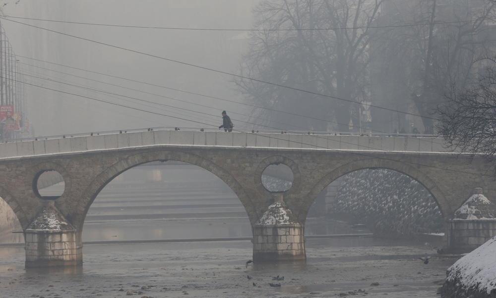 SARAJEVO NESLAVNI VICEŠAMPION U SVETU: Glavni grad BiH najzagađeniji grad Evrope!