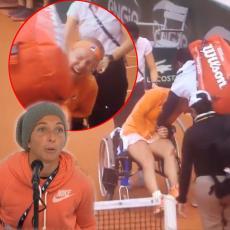 SARO, SRAMOTO: Vikala J*bi se! dok je rivalka u kolicima, a posle meča: Videh da jede! Prevarila me foricama