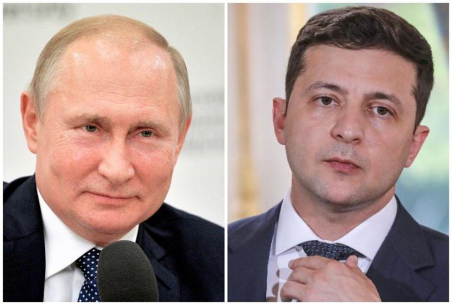 SASTALI SE PUTIN I ZELENSKI: Glavna tema bila mir u Ukrajini, a evo šta su se dogovorili