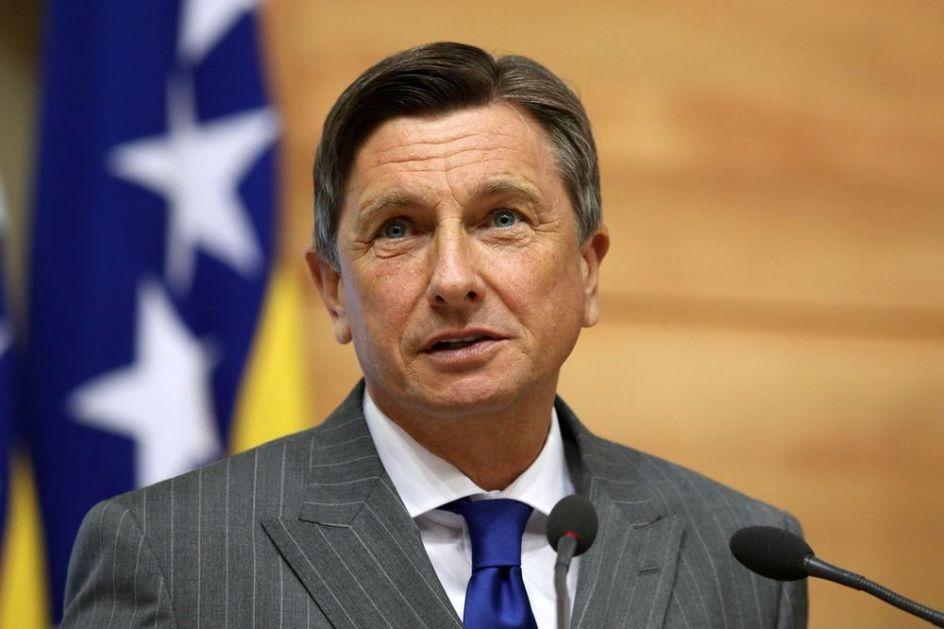SASTANAK PAHORA I ČLANOVA PREDSEDNIŠTVA BIH! Lider Slovenije poručio: Mi Slovenci imamo poverenje u budućnost BiH!