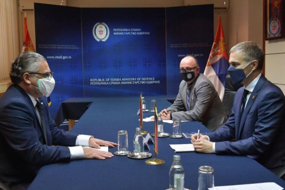 SASTANAK U MINISTARSTVU: Stefanović razgovarao sa češkim ambasadorom Kuhtom