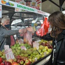SASTAVLJEN OD NAJJEFTINIJIH CENA IZ CELE SRBIJE! Od pasulja do celera - Idealan frižider voća i povrća za svačiji budžet