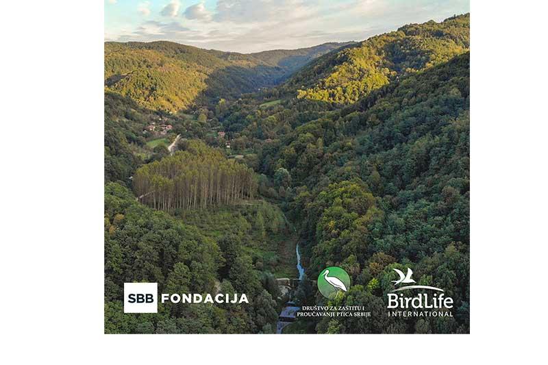 SBB fondacija i Društvo za zaštitu i proučavanje ptica Srbije pokreću projekat zaštite područja prirode