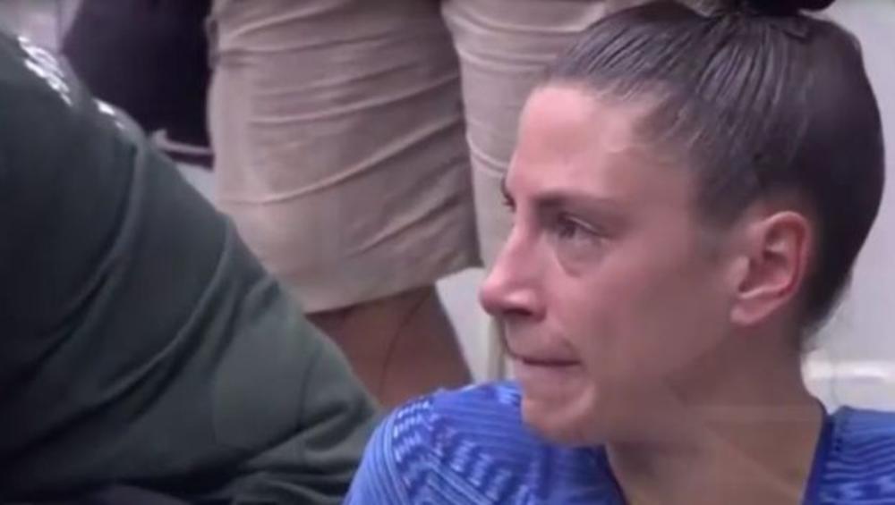 SCENA KOJA NIKOGA NE MOŽE OSTAVITI RAVNODUŠNIM: Ivana Španović u suzama napustila stazu! Srpska heroina nije mogla da sakrije razočarenje (VIDEO)