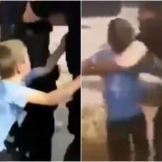 SCENE IZ CRNOGORSKE PORODICE POTRESLE REGION: Uhapšen samohrani otac, decu nasilno vukli iz kuće - oglasila se majka