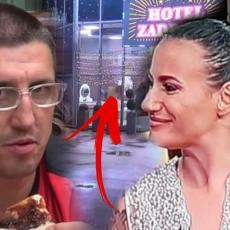 ŠČEPAO JE OTPOZADI, PA JE ZGRABIO ZA GLAVU - Golubović se PREVIŠE OPUSTIO u hotelu sa Kristinom (VIDEO)