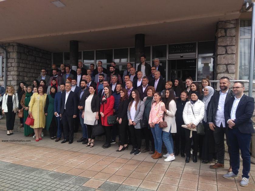 SDA Sandžaka predala listu za izbore u Novom Pazaru