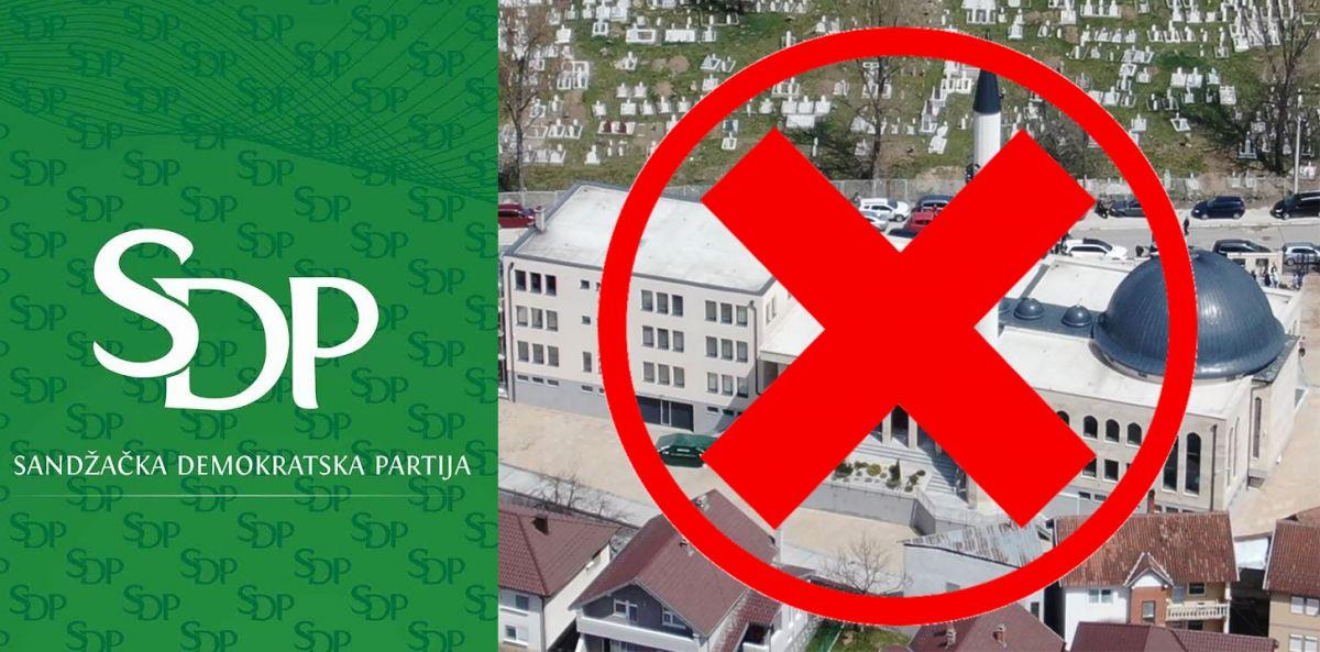SDP: Zatvoriti džamije tokom Ramazana