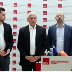 SDS, PSG i Nova stranka zajedno na izborima na Vračaru