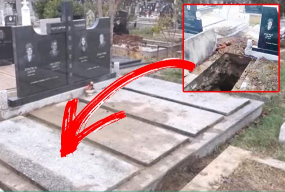 SEKTE SKRNAVE GROBOVE: Otkopali telo učiteljice i ukrali njenu lobanju, krst i deo sanduka! JEZIV PRIZOR U BANOVCIMA