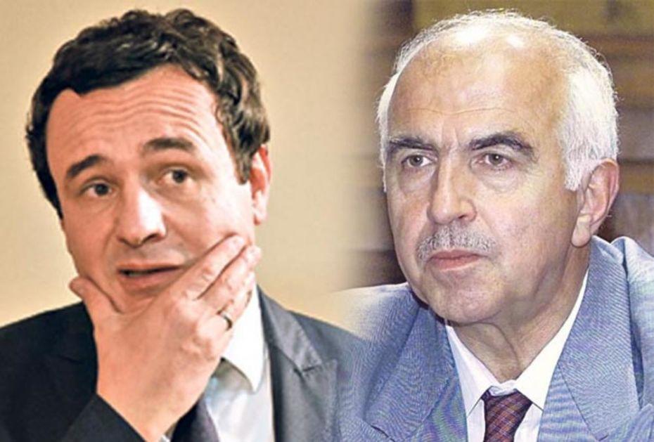 SENZACIONALNO! KURTI BIO U VEZI SA SRPKINJOM: Ludo je voleo ćerku srpskog ministra policije
