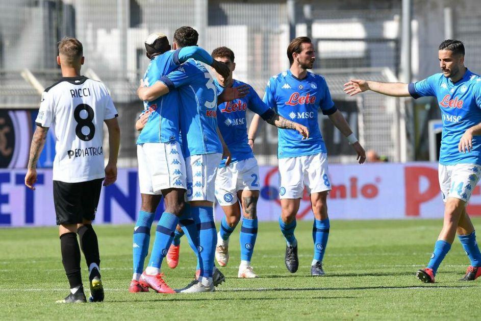 SERIJA A: Napoli pobedio Speciju, remi Udinezea i Bolonje