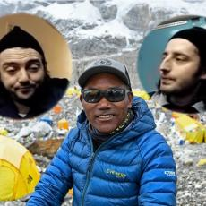 ŠERPAS KAMI RITA POKIDAO: Simka i Konda nisu mogli do vrha solitera, a on po 25. put na Mont Everestu!
