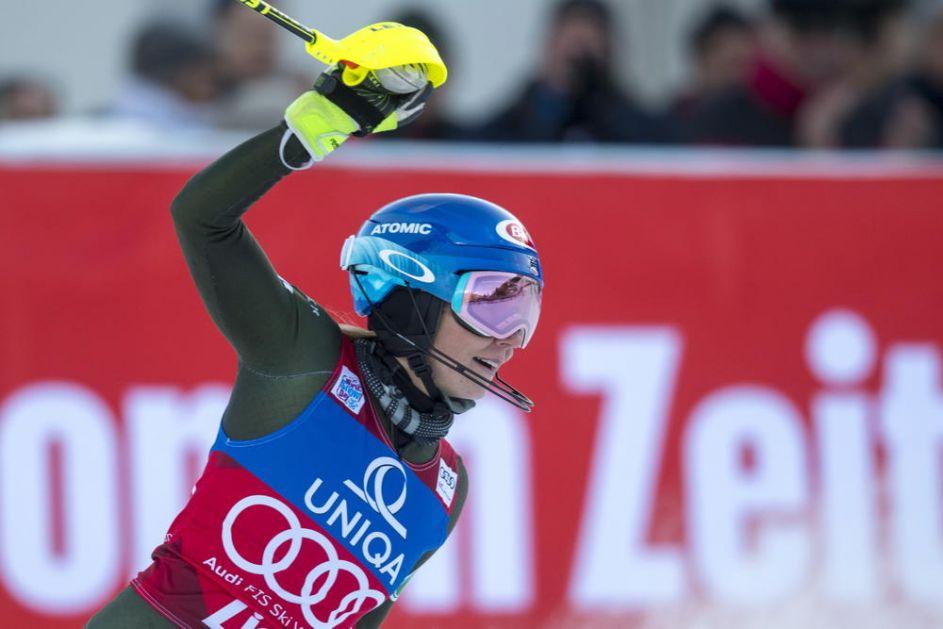 ŠIFRIN NAJBRŽA U JASNI: Amerikanka ostvarila 45. pobedu u slalomu