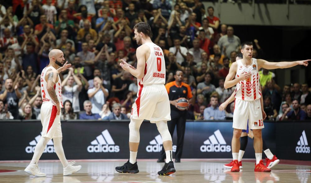 SIMBOLIKA BROJA 0: Evo zašto je Kuzmić sa ovim brojem na dresu ušao u igru protiv Barselone! U prvom kontaktu dao koš i izazvao DELIRIJUM U PIONIRU (FOTO)