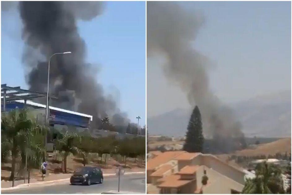 SIRENE NA SEVERU IZRAELA: Rakete stigle iz Libana, stanovništvo pobeglo u skloništa a vojska uzvratila vatru VIDEO