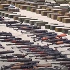 SIRIJSKE SNAGE OČERUPALE MILITANTE: Zaplenili ogromnu količinu oružja na jugu zemlje (VIDEO)
