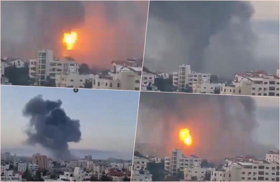 RAT NA BLISKOM ISTOKU: Više od 1.050 raketa palo na Izrael za 38 sati, bombardovan dom najvišeg operativca Hamasa