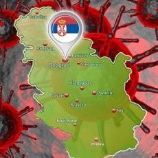 SITUACIJA U SRBIJI JE ALARMANTNA! Čak 19 gradova na CRNOJ LISTI sa najviše zaraženih, Beograd i dalje epicentar