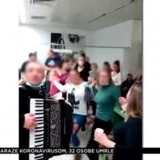 Isplivali tajni snimci: Lekari uz harmoniku opalili kolce usred kovid bolnice (VIDEO)