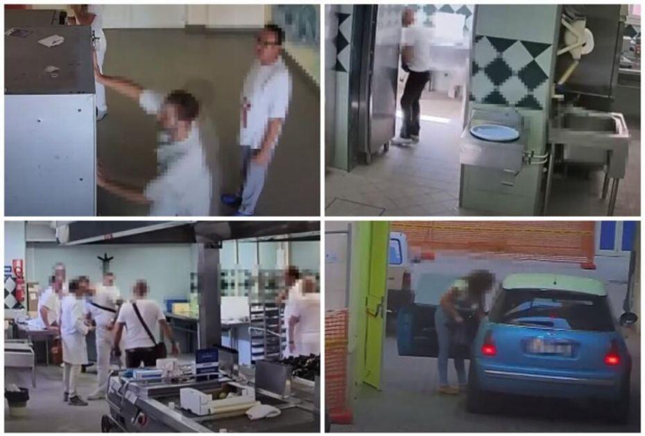 SKANDAL NA SICILIJI: Krali hranu iz bolnice, opustošili čak i automate, jedan snimljen kako urinira u kuhinji VIDEO
