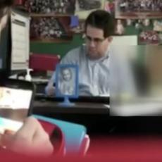SKANDAL U ŠKOLI: Nastavnik masturbirao ispod stola u PREPUNOJ UČIONICI? (FOTO/VIDEO)