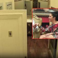 SKIDANJE BUBICA, PA PRAVO U TOALET! Gastozova sestra zavapila: Ovaj hoće da me RAZVEDE! (FOTO)