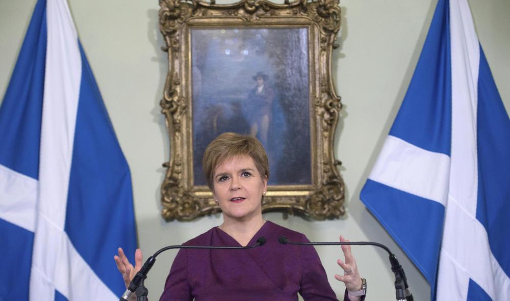 ŠKOTSKA PREMIJERKA NAJAVILA OTCEPLJENJE NAKON BREGZITA: Pristalice nezavisnosti Škotske uskoro će pobediti
