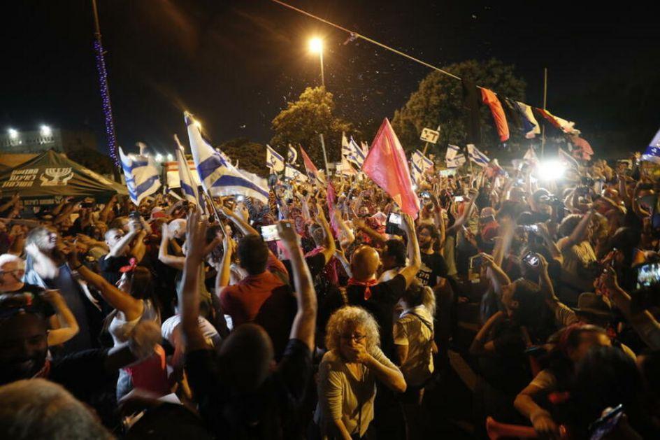 SLAVLJE NA ULICAMA IZRAELA: Građani slave odlazak Netanijahua! Kraj jedne ere VIDEO