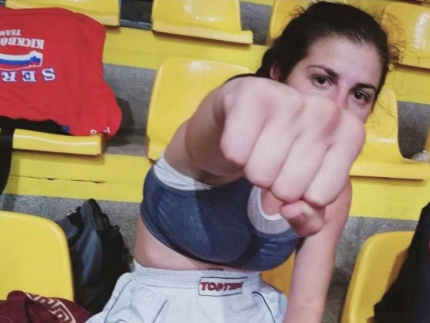 SLEDI BORBA ZA ZLATO: Kik-bokserka Ajla Lukač obezbedila medalju na SP u Sarajevu
