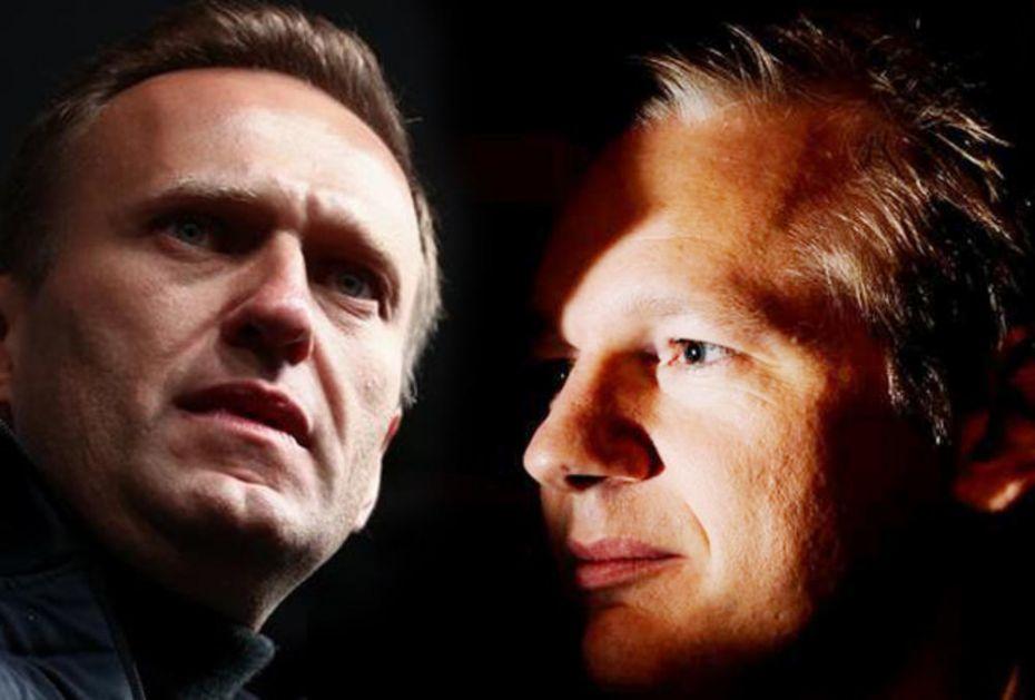 SLUČAJEVI ASANŽA I NAVALJNOG POKAZALI LICEMERJE ZAPADA: Jedan čami u britanskom zatvoru, drugi se predstavlja kao borac za slobodu