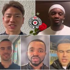 ŠMEKERSKI DO SRŽI: Igrači Partizana na PET JEZIKA čestitali 8. mart! Koristan snimak za sve muškarce (VIDEO)