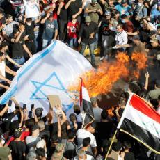 SMRT IZRAELU, SMRT AMERICI Ceo Irak na nogama, hiljade demonstranata na ulicama, gore neprijateljske zastave (FOTO/VIDEO)
