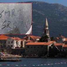 SMRT SRBIMA Đetići ostavili poruku dobrodošlice turisti iz Valjeva: Sramotno ponašanje Crnogoraca (FOTO)
