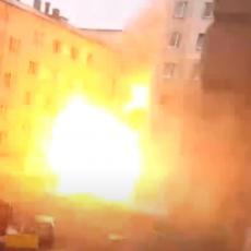 SNAŽNA EKSPLOZIJA U BOLNICI U RUSIJI: Susedne zgrade u plamenu, vanredno stanje u celom gradu! (VIDEO)