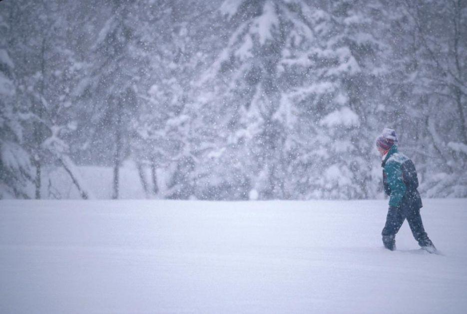 SNEG U JUNU: U Sloveniji danas izmereno 70 centimetara belog pokrivača!