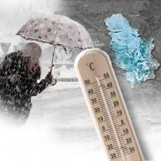 SNEŽNI OBRT ČEKA SRBIJU RHMZ izdao saopštenje! Temperatura u naglom padu