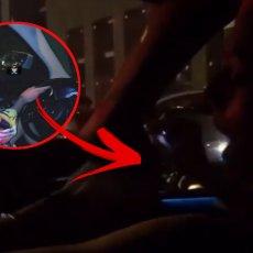 SNIMAK IZ KOLA! Tara je UNIŠTILA Nenadov AUTO, a sada objavila NOVI VIDEO - pogledajte šta je RADILA kod volana