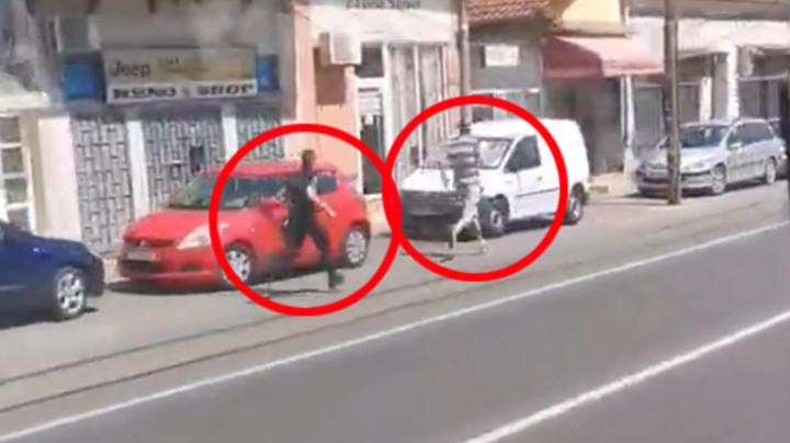 SNIMAK POTERE U BEOGRADU ZAPALIO INTERNET! Policajac za samo dva minuta uhvatio osumnjičenog, a sada je otkriveno i ZAŠTO GA JE JURIO! (VIDEO)