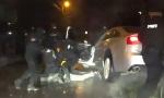 """SNIMAK hapšenja za pokušaj ubistva Snajpera: Postavili eksploziv pod  """"Porše"""" (VIDEO)"""