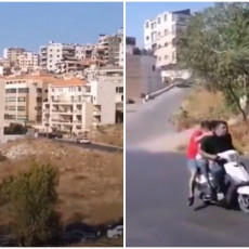 SNIMCI KRVOPROLIĆA U BEJRUTU: Suniti presreli pogrebnu povorku šiita pa otvorili jaku vatru (VIDEO)