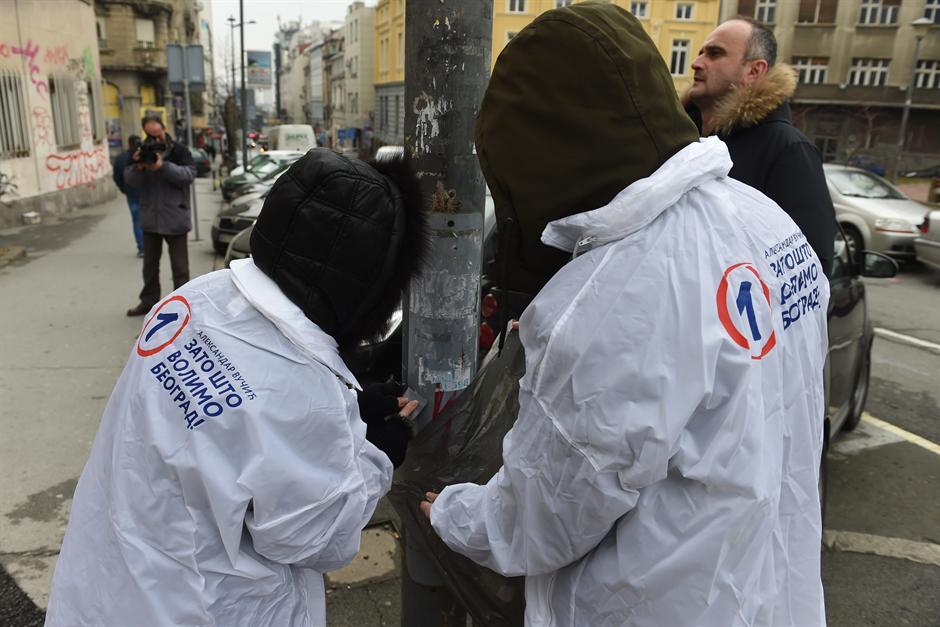 Napadnuti aktivisti SNS, uhapšen osumnjičeni