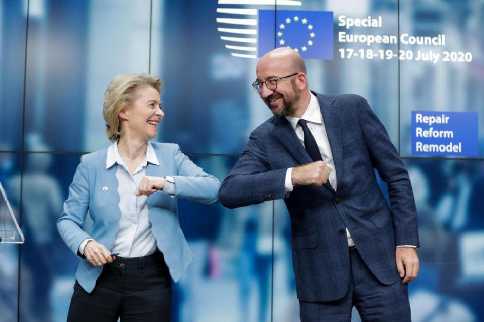 SOFAGEJT DRMA EU Grupe za ženska prava traže smenu predsednika Evropskog saveta, nije ustupio mesto Ursuli fon der Lejen