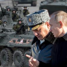 ŠOJGU RAPORTIRAO PUTINU: Korona virus ne može ništa moćnoj ruskoj armiji (VIDEO)
