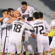 ŠOK: Partizan u derbiju bez UDARNE igle (FOTO)