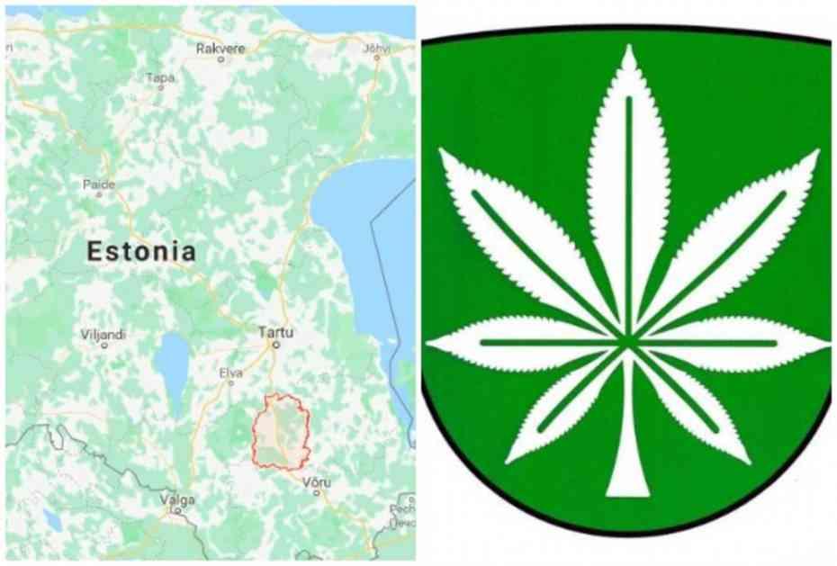 ŠOKIRALI SVET: Estonci stavili na zastavu biljku koja se zove kao njihova opština, VLASTI FRAPIRANE!